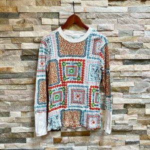 undance Thermal Pullover Long Sleeve Shirt Size L